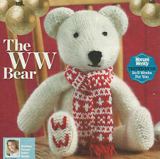 Knitting Pattern Toy Teddy Bear-Magazine extrait