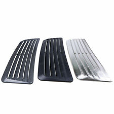 1pcs Car Hood Fender Decorative Air Flow Intake Scoop Bonnet Vent Cover Sticker