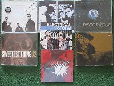 U2 Lot 7 CD Single Sweetest Thing ELECTRICAL STORM Vertigo DISCOTHEQUE