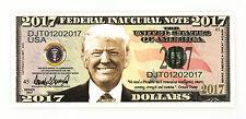President Donald Trump Inaugural USA fantasy paper money
