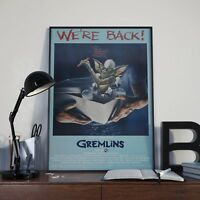 Gremlins Movie Film Poster / Print / Picture A3 A4 Size