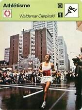 FICHE CARD: JO de Montréal Waldemar Cierpinski RDA Marathon Athlétisme 1970s