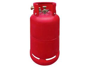 Gastankflasche Tankflasche Rot Brenngastank 14 Kg 36 Liter Kragen Neu LPG