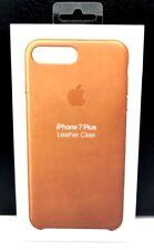 Apple iPhone 8 Plus Leather Case - Saddle Brown