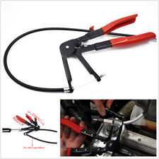 1x Flexible Wire Long Hose Clamp Plier Auto Car Fuel Oil Water Pipe Repaire Tool