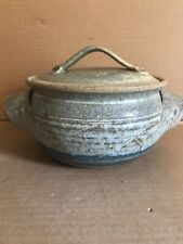 Beautiful Pottery Bowl Signed E Pine