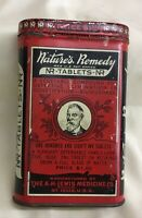 Nature's Remedy A.H. Lewis Advertising Medicine Tin laxative tin
