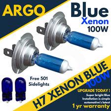 H7 100w Glace Bleu Xenon (499) 12v Trempé Phare Ampoules 501 T10 Côté Feux