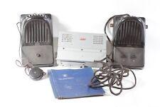 antique RFT Interphone avec Haut-parleur et accessoires Installation