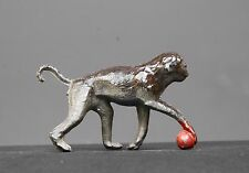 CHERILEA or CHARBENS LEAD ZOO SERIES ANIMAL MONKEY with BALL - HARD to FIND!