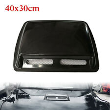 Universal Large Car Engine Hood Air Flow Inlet Vent SUV Front Grille ABS Cover