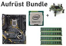 Bundle ASUS TUF Z370-Plus Gaming II + Intel Core i3 i5 i7 CPU + 8GB bis 32GB RAM