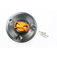 CNC Billet Motorbike Keyless Gas Fuel Tank Cap Cover For KTM 125 200 390 Duke