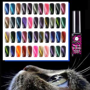 Katzenauge Cat Eye Magnetisch Nagellack Soak Off UV Gel Lack Nail Polish Gellack