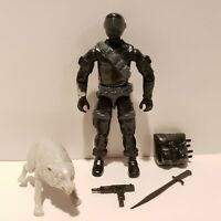 G.I. Joe ARAH 1985 SNAKE EYES Action Figure Complete w/ Timber Wolf NM-MT+++!!!