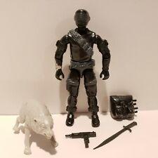G.I. Joe ARAH 1985 SNAKE EYES Action Figure Complete w/ Timber Wolf NM-MT+++!!!