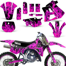 Yamaha Graphic Kit WR 250Z Dirt Bike Decal w/ Backgrounds WR250Z 1991-1993 ICE P