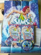 The Sims 3 Showtime -- Katy Perry Collector's Edition Poster & Guitar Picks