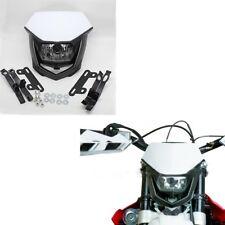 Street Fighter Motorcross Bike DirtBike H4 12V Headlight Lamp White Universal