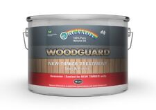 Organoil Woodguard Exterior Oil - Timber Protector Seasoner Wood Guard 10 litre