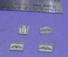 O/On3/On30 1/48 WISEMAN MODELS DETAIL PARTS O360 DONKEY ENGINE SLED PIN PLATES
