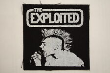 "Exploited Cloth Patch Sew On Badge Minor threat Adicts Punk Rock  4""X4"" (CP67)"