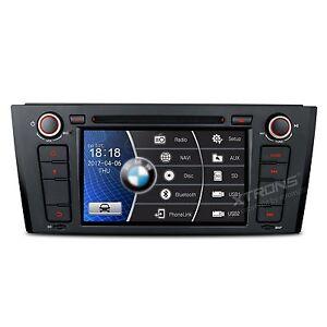 AUTORADIO BMW Serie 1 E81 E82 116i 118i 120i 130i Navigatore Gps Bluetooth JJ