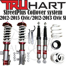TruHart Streetplus Sport Coilovers for 12-15 Honda Civic & 12-13 Si Sedan/Coupe