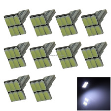 10x White Auto T10 W5W Wedge Light Parking Bulb 6 5630 SMD LED 585 655 656 Z2023