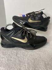 Nike Zoom Kobe VII 7 System Elite Size 9.5 Black/Gold/Finals 511371-001