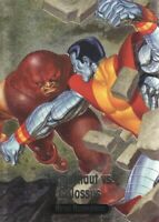 2016 Marvel Masterpieces Battle Spectra #BS-1 Juggernaut vs. Colossus
