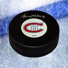 Gump Worlsey Montreal Canadiens Signed Hockey Puck