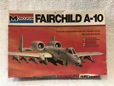 Monogram Fairchild A-10 1/72 Scale #5405 Complete Open Box Read