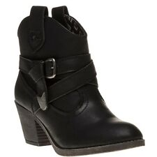 Womens Rocket Dog Satire BOOTS in Black From Get The Label UK 5 SATIRE2BLK126