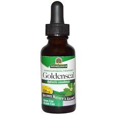 Goldenseal Root Alcohol 500mg Extract 30ml Nature's Answer