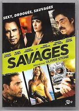 DVD / SAVAGES - FILM OLIVER STONE , JOHN TRAVOLTA , SALMA HAYEK , BENICIO