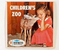 View-Master San Diego CHILDREN'S ZOO (B617) - three reels & booklet – SH