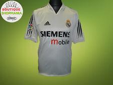 REAL MADRID HOME 2004-2005 #5 ZIDANE (M) Adidas Football Soccer Shirt Jersey