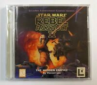 """BRAND NEW"" Star Wars: Rebel Assault II: The Hidden Empire PC FACTORY SEALED"