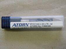 VHM Schaftfräser  10,0 x 70,0 x 22,0 mm von ATORN Typ Rock Tec 52, 4 Zähne
