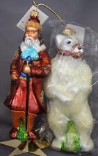 Christopher Radko Ivan & Misha 1997 Ornament Set 97-CIR-01 Moscow Circus L/E