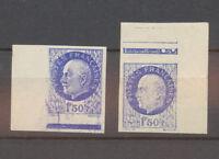 N°552c, 1f. 50 Pétain SANS SURCHARGE Non Dentelé, deux cdf, N** X4525