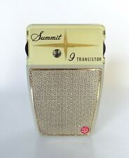 SUMMIT TRANSISTOR RADIO with box and accessories
