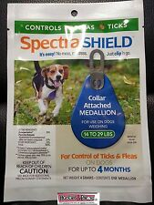 Spectra Shield Dog Flea and Tick 4 FOUR MONTH Treatment Small Dog