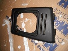 VW CORRADO BLACK GEAR SURROUND GAITER VR6 16V 8V G60  KARMANN BADGE
