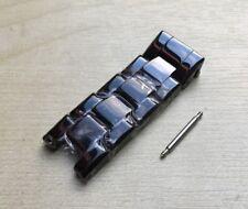 5 Top Fixe Céramique links Fits Emporio Armani AR1407 De rechange Sangle/Bracelet/Band