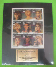 FRANCOBOLLI MADONNA Collector stamps ST.VINCENT sealed sigillato no cd dvd lp mc