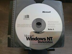 ULTRA RARE: Microsoft Windows NT 5 Workstation Beta 1 CD - Confidential