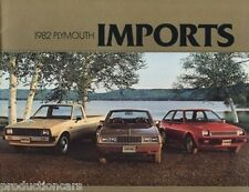 1982 Plymouth Arrow Truck Champ Sapporo 16-page Original Sales Brochure Catalog
