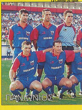 N°289 TEAM 1/2 PANIONIOS GSS GREECE PANINI GREEK LEAGUE FOOT 95 STICKER 1995